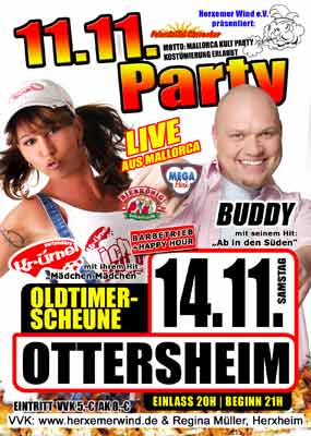 11.11 Party Ottersheim
