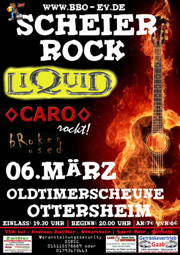 BBO Scheierrock - Livemusik Party