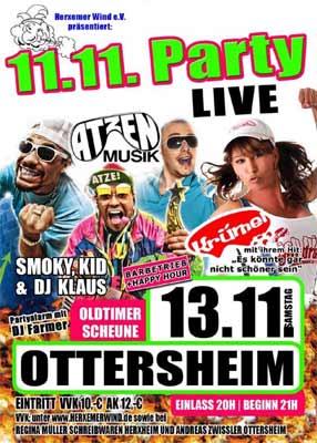 Atzenmusik in Ottersheim