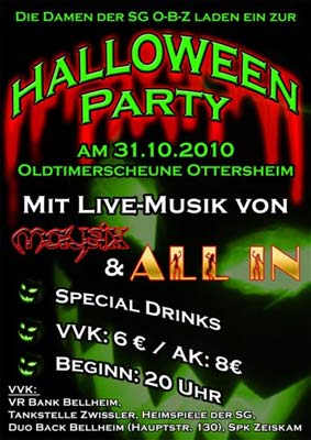 Halloweenparty Ottersheim 2010