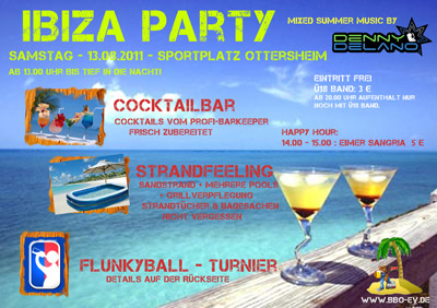 BBO Ibizaparty 2011