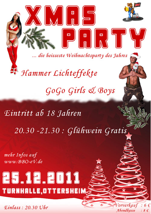 Xmas Party 2011 in Ottersheim