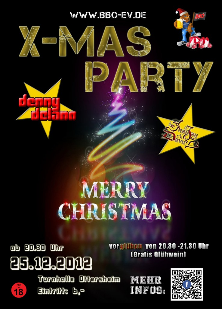 BBO XMas Party Ottersheim 2012