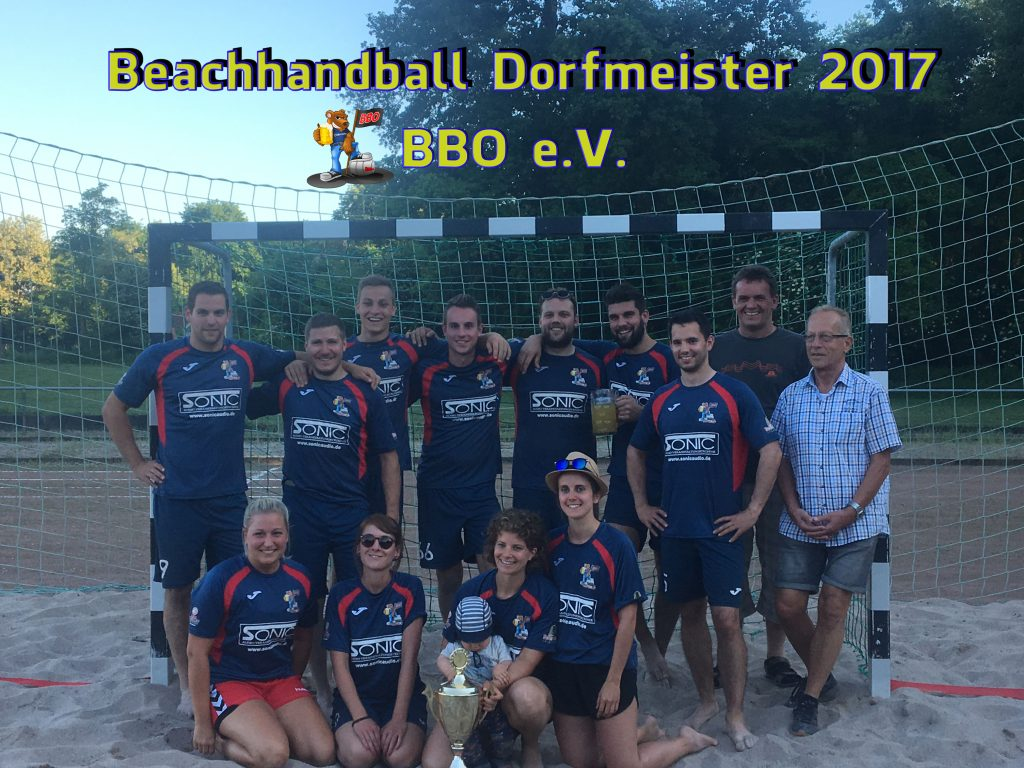 Beachhandball Meister