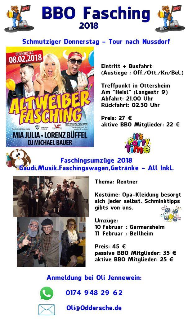 BBO Fasching 2018